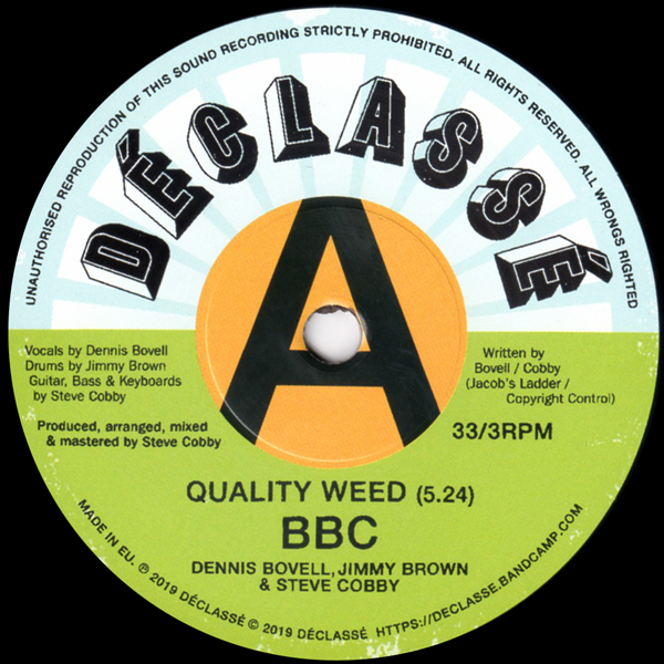 bbc-dennis-bovell-jimmy-brown-steve-cobby-quality-weed-declasse-cover