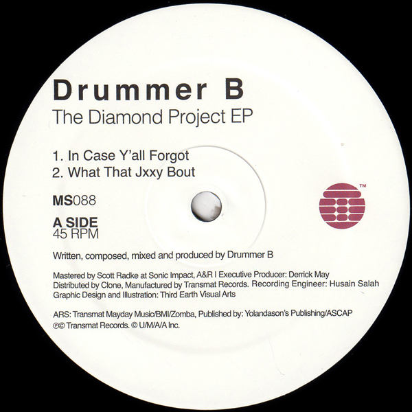 drummer-b-the-diamond-project-ep-1-transmat-cover