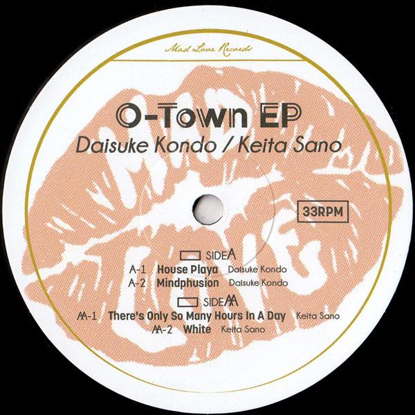 daisuke-kondo-keita-sano-o-town-ep-mad-love-records-cover