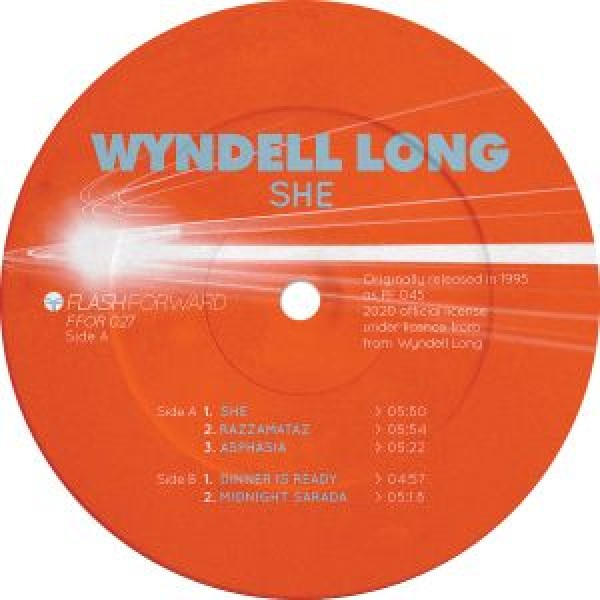 wyndell-long-she-coloured-vinyl-edition-flash-forward-cover