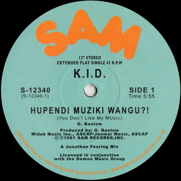 kid-hupendi-musiki-wangu-its-hot-sam-records-cover