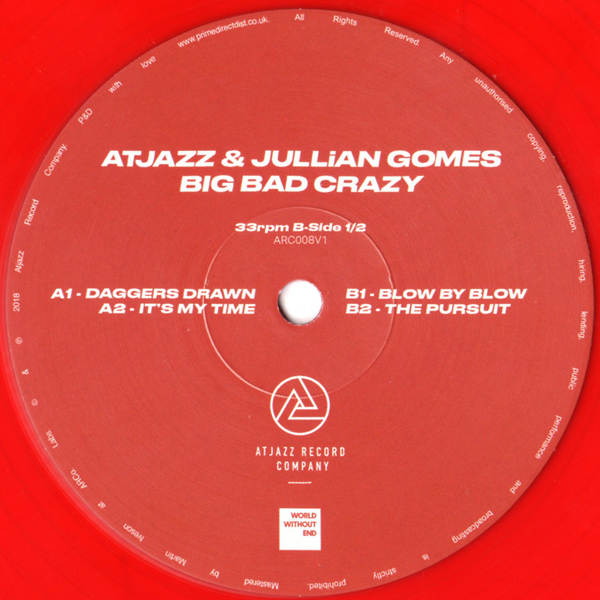 atjazz-jullian-gomes-big-bad-crazy-1-2-daggers-drawn-blow-by-blow-atjazz-record-company-cover