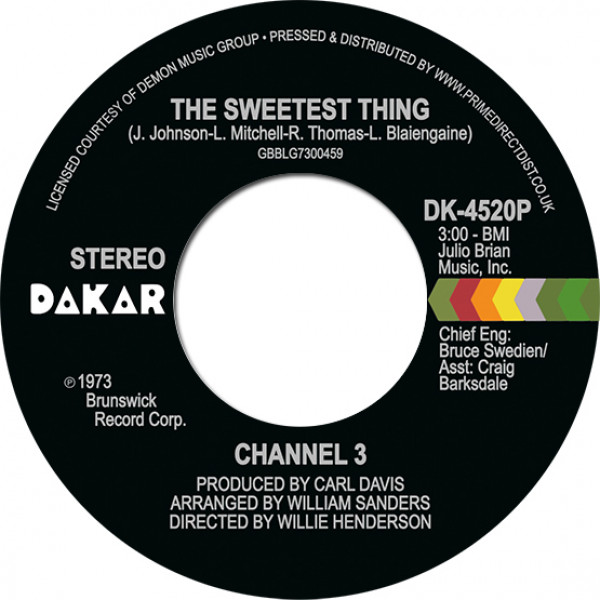 channel-3-the-sweetest-thing-someone-elses-arms-rsd-2021-dakar-cover