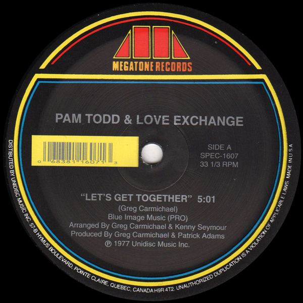 pam-todd-love-exchange-sylvester-lets-get-together-living-for-the-city-unidisc-cover