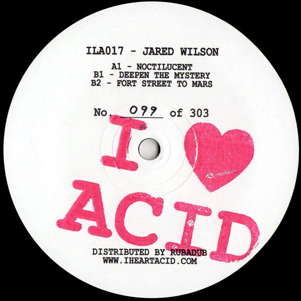 Jared Wilson I Love Acid Seventeen I Love Acid Vinyl