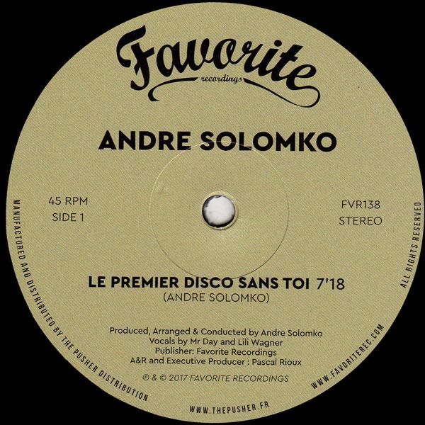 andre-solomko-le-premier-disco-sans-toi-favorite-recordings-cover