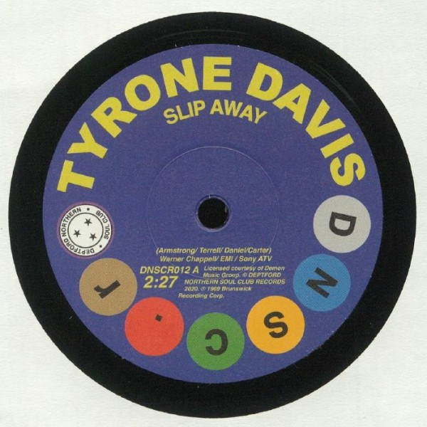 tyrone-davis-gene-chandler-slip-away-there-was-a-time-deptford-northern-soul-club-cover