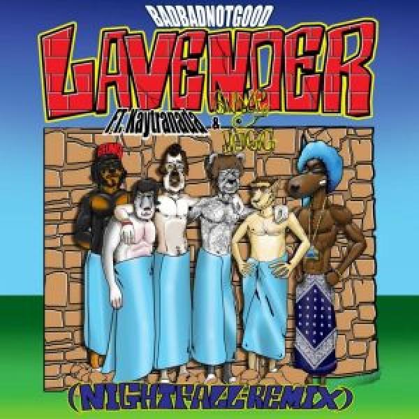 badbadnotgood-lavender-night-fall-remix-feat-kaytranada-and-snoop-dogg-innovative-leisure-cover