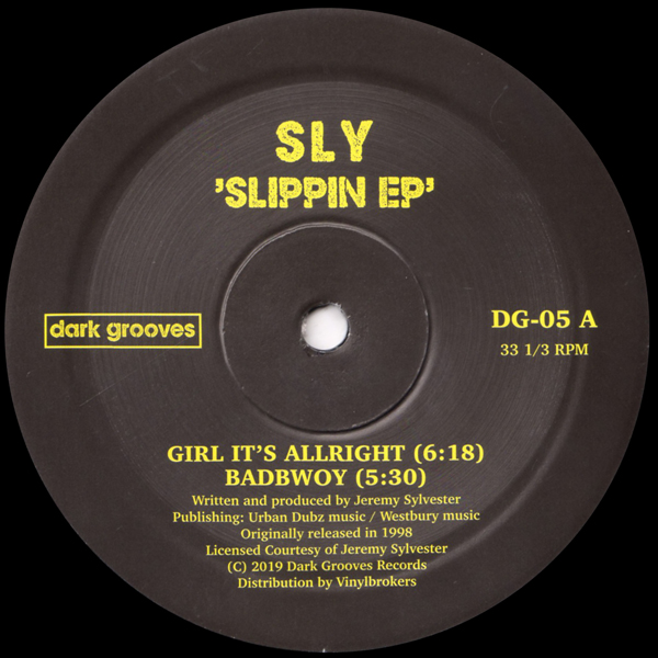 sly-slippin-ep-dark-groove-records-cover