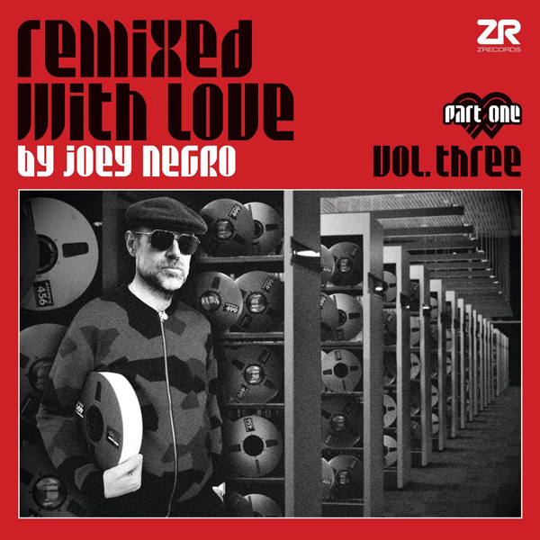 Remixed with Love Vol  Three Part One LP (Red)