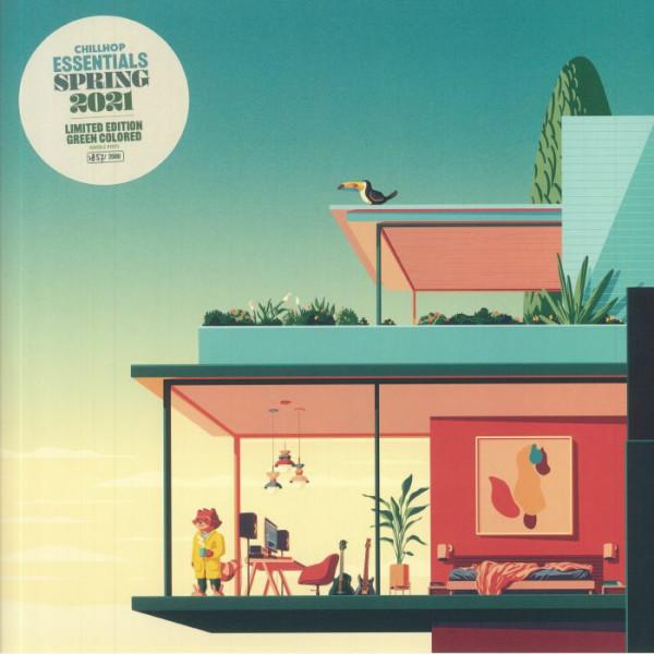various-artists-chillhop-essentials-summer-2021-lp-chillhop-cover