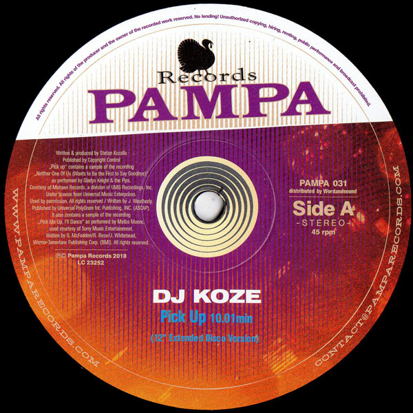 dj-koze-pick-up-the-love-truck-pampa-records-cover