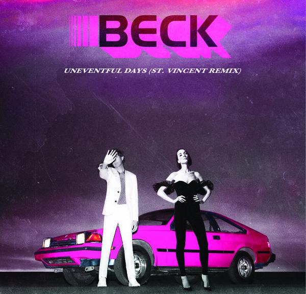 beck-uneventful-days-st-vincent-remix-rsd-2020-capitol-records-cover
