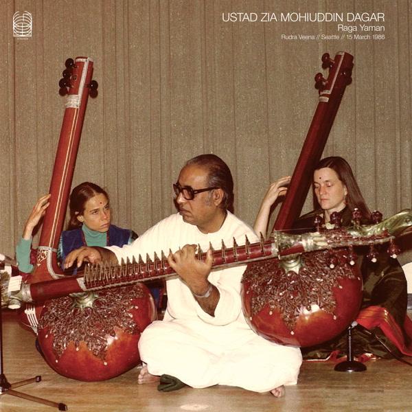 USTAD ZIA MOHIUDDIN DAGAR/Ragas Abhogi & Vardhani LP/IDEOLOGIC ORGAN