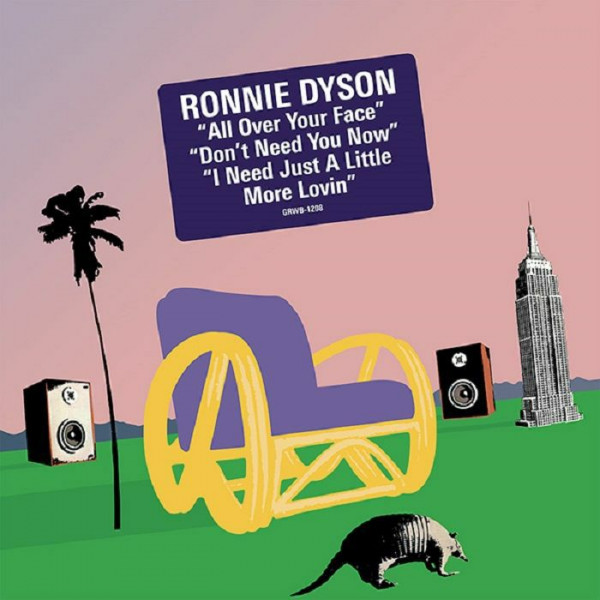 ronnie-dyson-all-over-your-face-groovin-recordings-cover