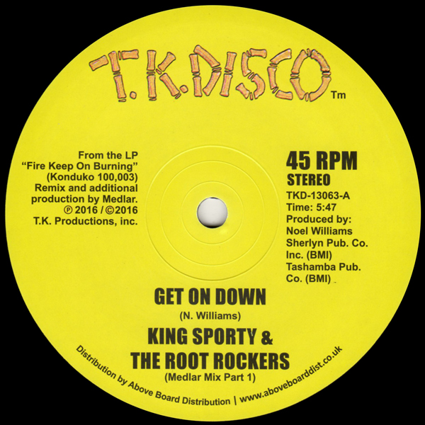 king-sporty-the-root-rockers-get-on-down-medlar-remixes-tk-disco-cover