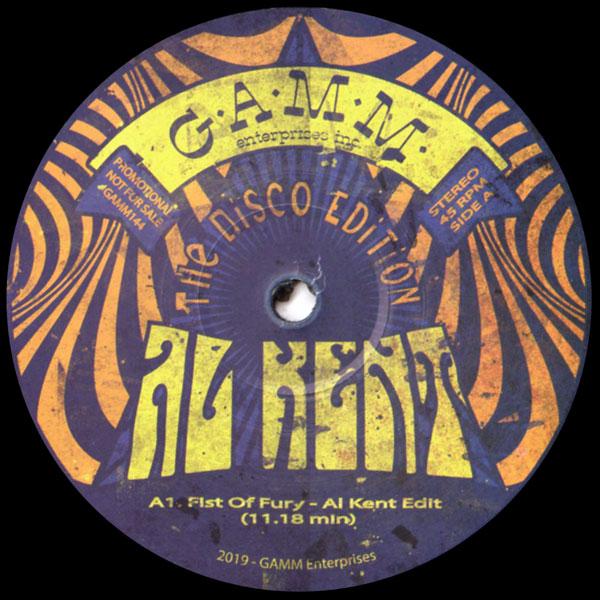 al-kent-the-disco-edition-gamm-records-cover