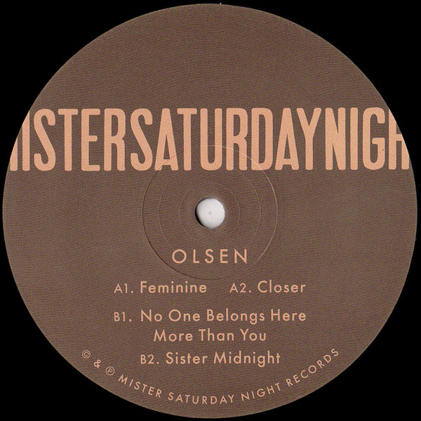 olsen-no-one-belongs-here-more-than-you-ep-mister-saturday-night-cover