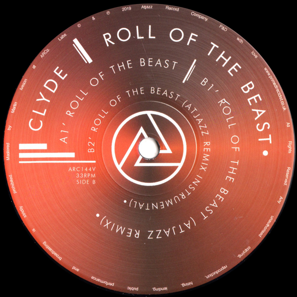 clyde-roll-of-the-beast-atjazz-record-company-cover
