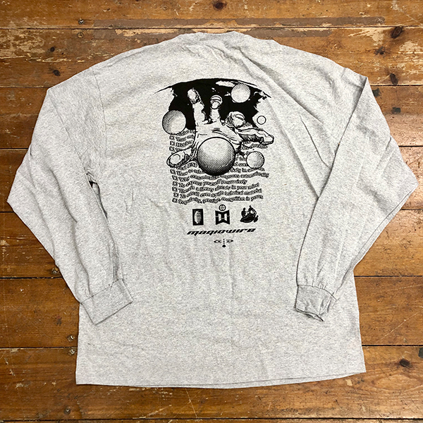 magicwire-magicwire-no-limit-long-sleeve-grey-t-shirt-large-magic-wire-recordings-cover