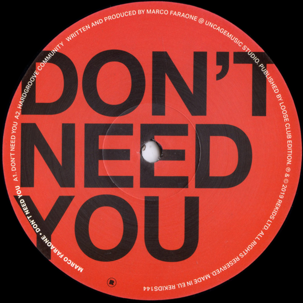 marco-faraone-dont-need-you-ep-rekids-cover