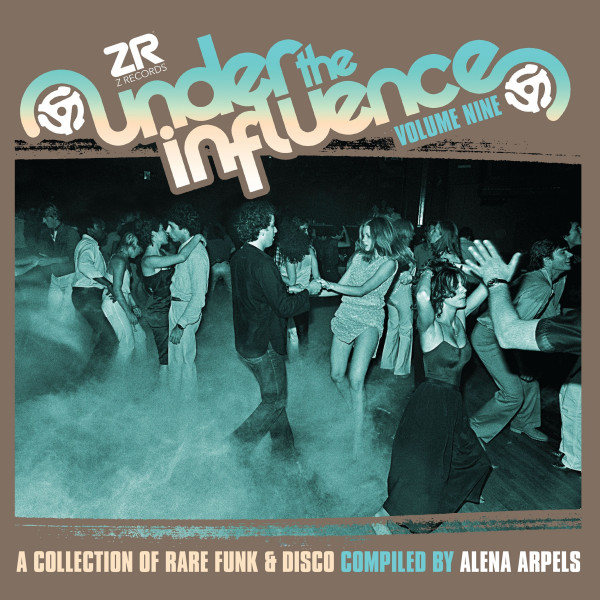 alena-arpels-various-artists-under-the-influence-volume-9-lp-z-records-cover