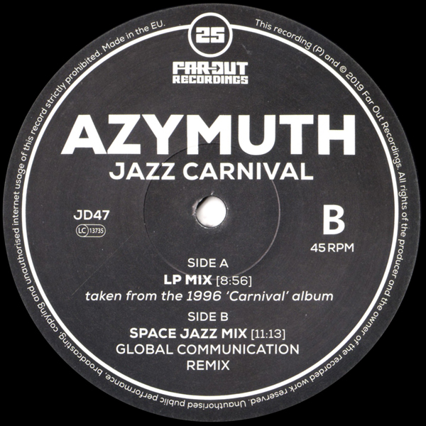 azymuth-jazz-carnival-space-jazz-mix-global-communication-remix-far-out-recordings-cover