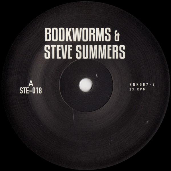 BOOKWORMS   STEVE SUMMERS BNK007-2 EP BANK RECORDS - Vinyl Records ... abad207cf23d