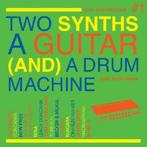 various-artists-two-synths-a-guitar-and-a-drum-machine-post-punk-dance-vol-1-lp-coloured-vinyl-soul-jazz-cover