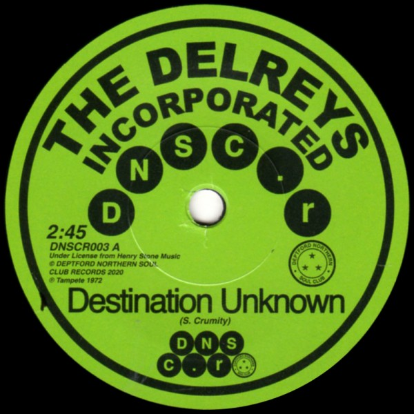 the-delreys-incorporated-oscar-wright-destination-unknown-fell-in-love-dnscr-cover