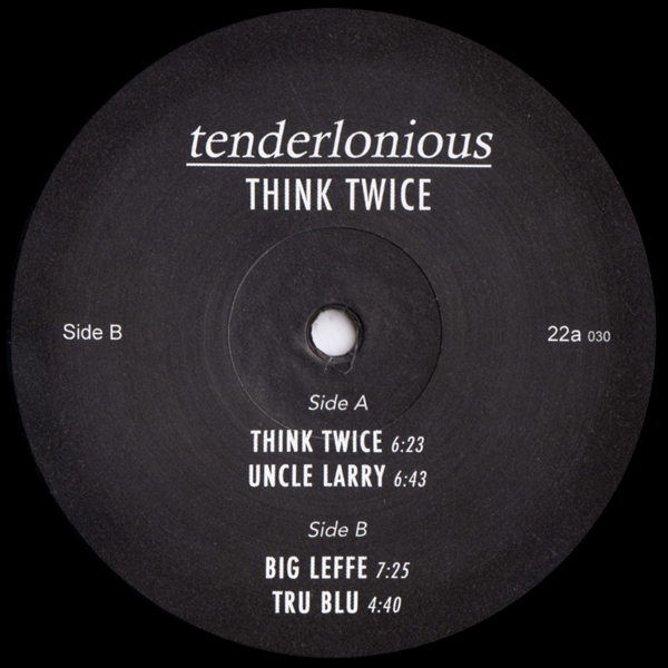 tenderlonious-think-twice-ep-22a-cover
