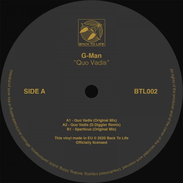 g-man-quo-vadis-black-vinyl-back-to-life-cover