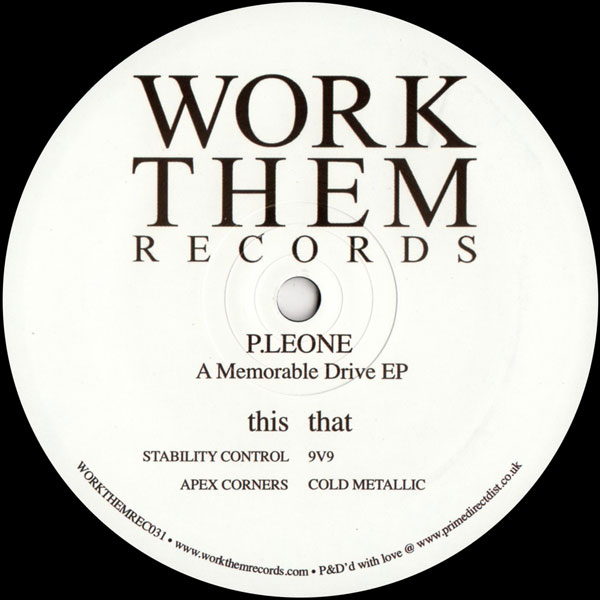 p-leone-a-memorable-drive-ep-work-them-records-cover