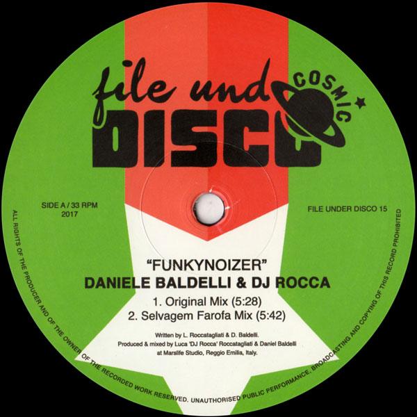 14c5446d7f2a DANIELLE BALDELLI   DJ ROCCA Funkynoizer FILE UNDER DISCO - Vinyl Records  Specialists