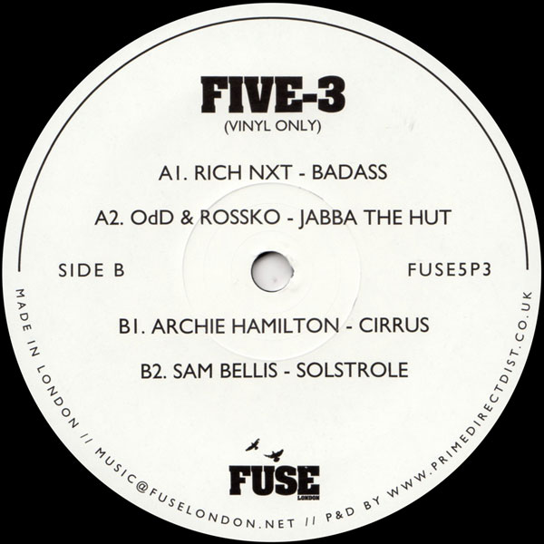 rich-nxt-various-artists-five-3-fuse-london-cover