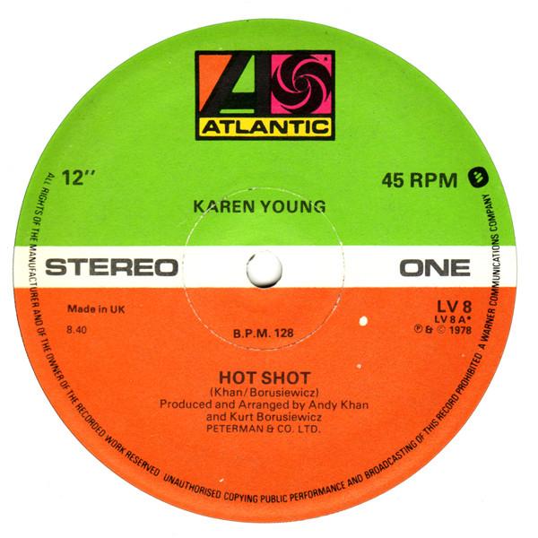 karen-young-hot-shot-used-vinyl-vg-sleeve-vg-atlantic-cover