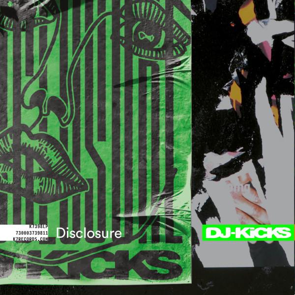 disclosure-various-artists-dj-kicks-disclosure-lp-indie-exclusive-green-vinyl-pre-order-k7-records-cover