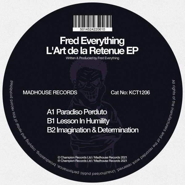 fred-everything-lart-de-la-retenue-ep-madhouse-cover