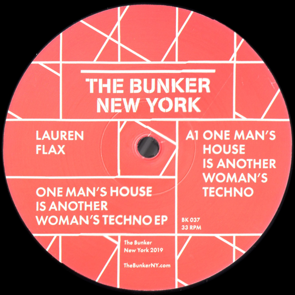 lauren-flax-one-mans-house-is-another-womans-techno-ep-the-bunker-new-york-cover