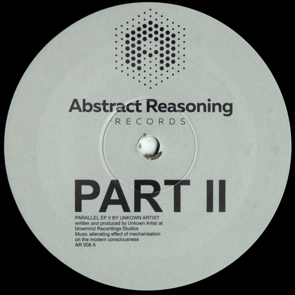 unknown-artist-parallel-ep-part-2-abstract-reasoning-records-cover