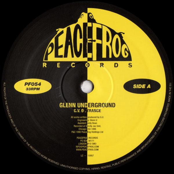 glenn-underground-cvo-trance-peacefrog-cover