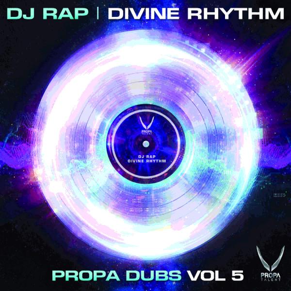 dj-rap-divine-rhythm-remixes-ep-propa-talent-cover