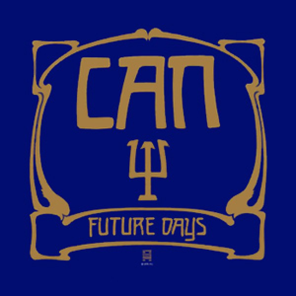 can-future-days-lp-limited-edition-gold-vinyl-mute-cover