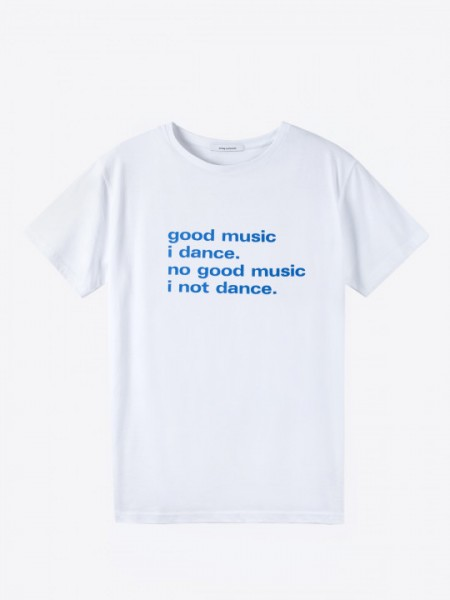 airbag-craftworks-good-music-i-dance-white-with-blue-print-medium-size-airbag-craftworks-cover