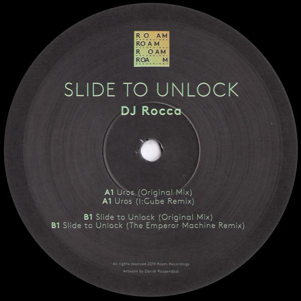 dj-rocca-slide-to-unlock-ep-incl-icube-the-emperor-machine-remixes-roam-recordings-cover