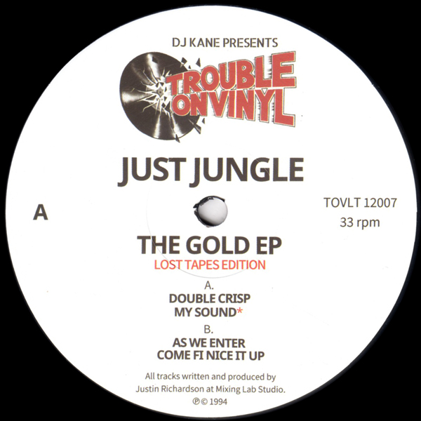 just-jungle-the-gold-ep-lost-tapes-edition-trouble-on-vinyl-cover