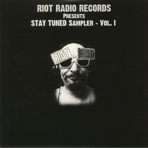 neil-landstrumm-paul-birken-various-artists-stay-tuned-sampler-vol-1-lp-riot-radio-records-cover