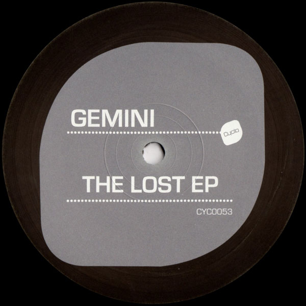 gemini-the-lost-ep-cyclo-records-cover
