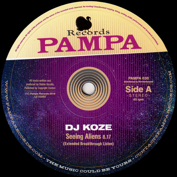 dj-koze-seeing-aliens-ep-pampa-records-cover