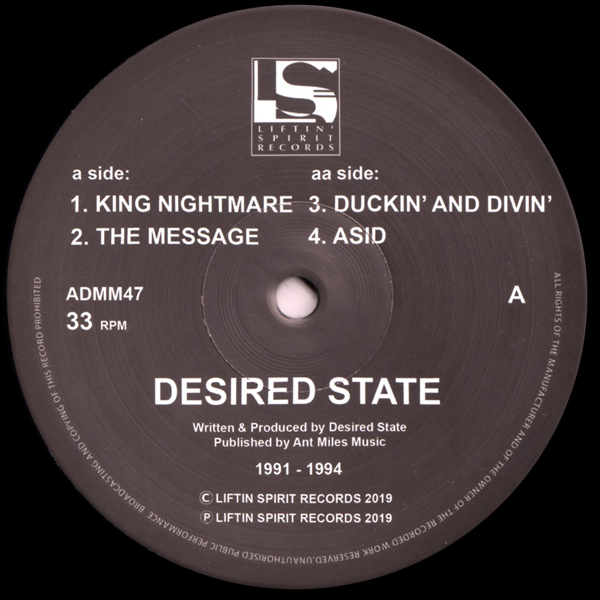 desired-state-king-nightmare-the-message-duckin-and-divin-asid-liftin-spirit-records-cover